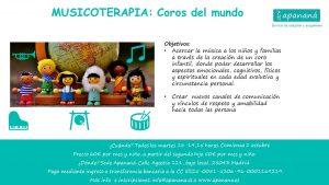 Musicoterapia @ Asociación Apananá | Madrid | Comunidad de Madrid | España