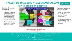 Taller racismo y discriminación